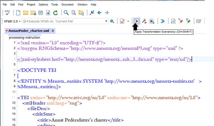 Menota handbook (v  3 0 beta): XSLT stylesheets